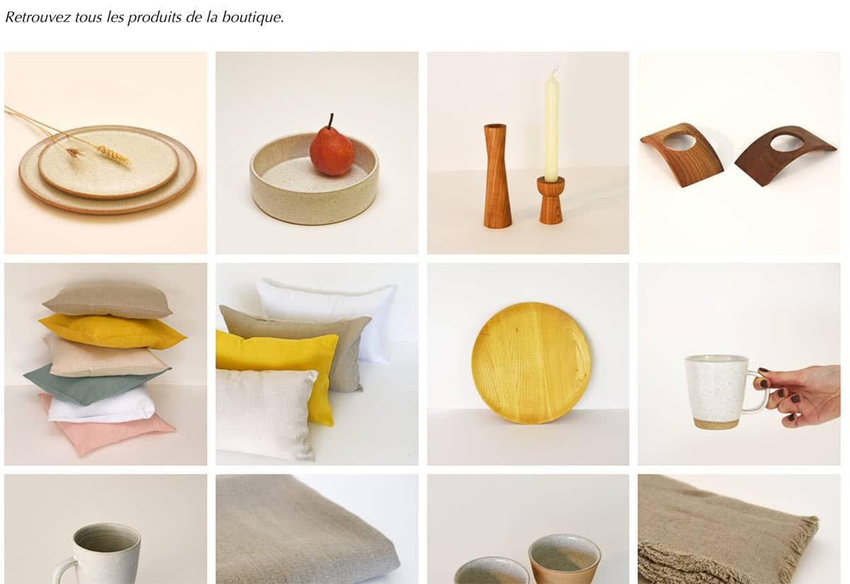 De nouveaux produits pour la cuisine, la chambre ou ou la salle de bain vont venir compléter le catalogue