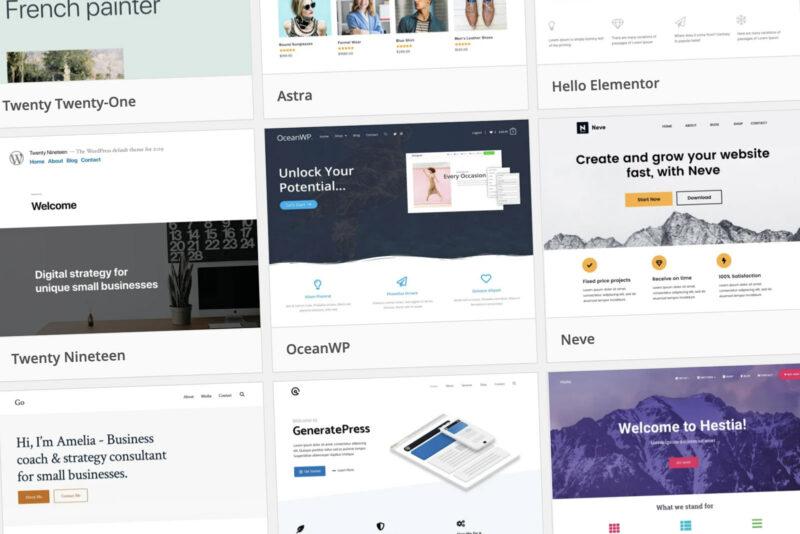 Aperçu de Quel est le meilleur thème WordPress pour la webperf ?